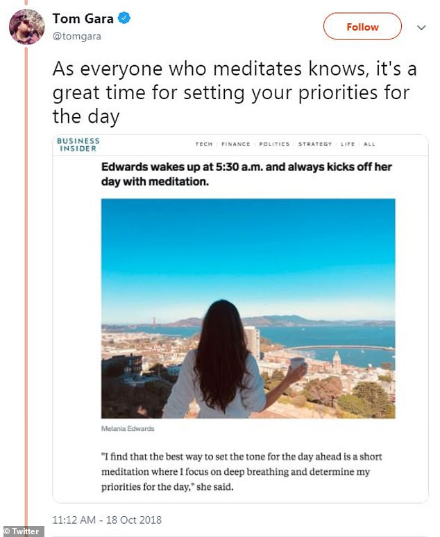 That's not how this works!  One pointed out that 'meditation' is not meant to be used for setting one's priorities