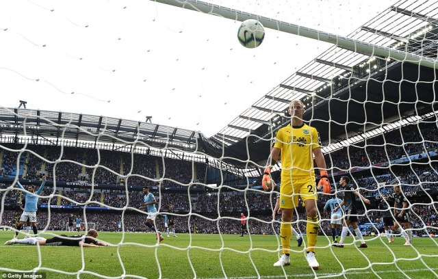In familiar surroundings Joe Hart was forced to pick the ball out of his net against his former side 17 minutes in