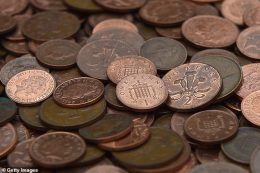 Copper coins: A small batch of 2p coins minted in 1983 are now worth £500