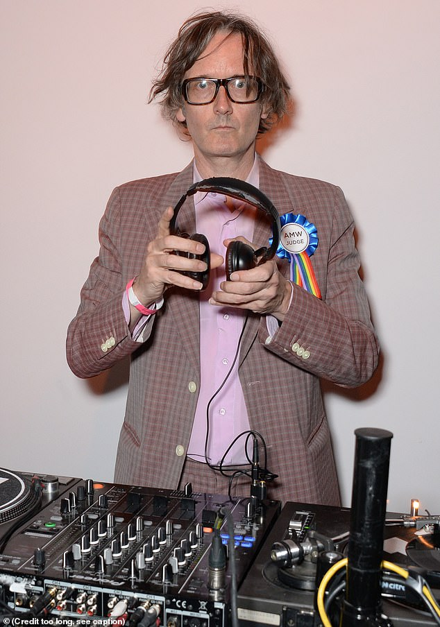 Performance: Also in attendance at the BFI London Film Festival Awards Party was musicianJarvis Cocker