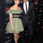 Lily Collins and Robert Pattinson at the Go Campaign's annual gala in Los Angeles