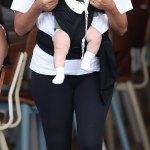 Eva Longoria and son,Santiago in Australia