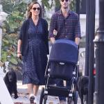 Pippa Middleton and James Matthews step out with new born