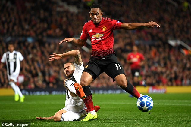 United upped the intensity after a poor first half but Juventus defended together as a unit