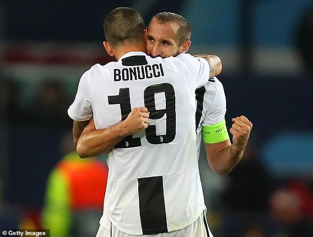 Giorgio Chiellini and Leonardo Bonucci are the reason Juventus are a success, says Mourinho