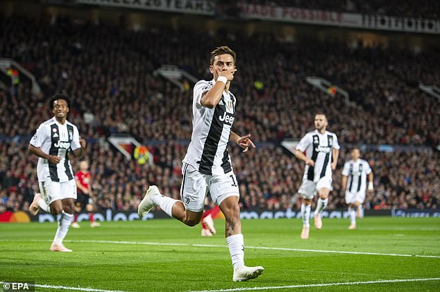 The striker's goal was the only one in the game and all but guaranteed Juventus' qualification