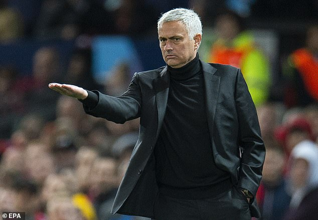 Jose Mourinho will again be under pressure after United were outclassed on their own turf