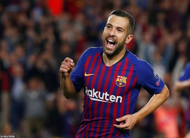 Jordi Alba scored the second goal of the game to put it to bed with eight minutes remaining after a hard-fought clash