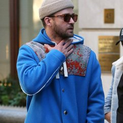Chair Exercise Justin Timberlake Accent Tub Hides His Throat In Nyc After Canceling Concert Sick Day Was Seen Hiding When Out New York City