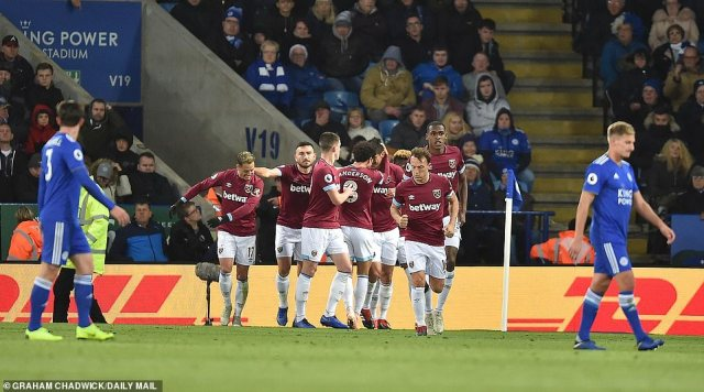 It was the perfect start for West Ham as Manuel Pellegrini's side looked to show resilience away from home in the league