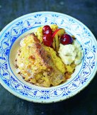 Using panettonne will give you bread and butter pudding much more depth, plus it's just fabulously tasty