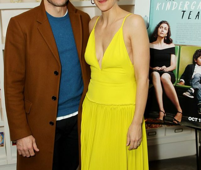 Family Affair Jake Gyllenhaal Supported His Sister Maggie Gyllenhaal On Monday At A Screening Of