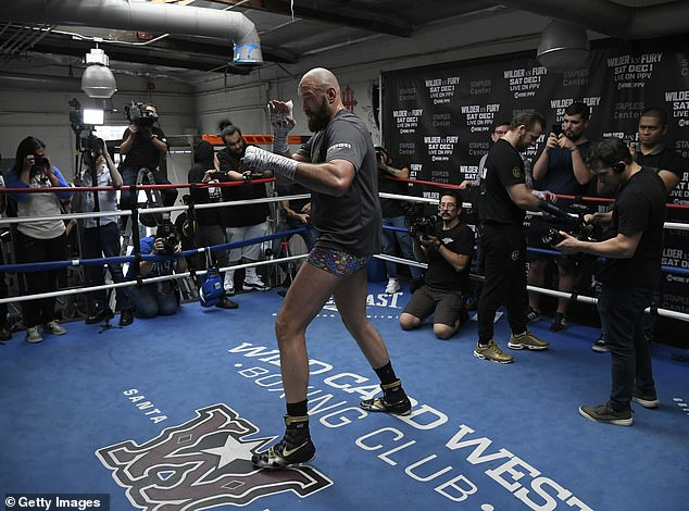 The former world heavyweight champion is now fighting fit and ready to face Deontay Wilder