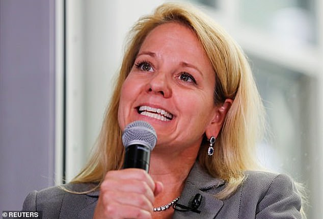 Gwynne Shotwell (pictured) is the COO of SpaceX. Researchers at the London School of Economics could not be more ambitious