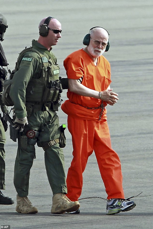 Bulger (pictured in 2011) hadn't even been processed at Hazelton when he was killed, sources said