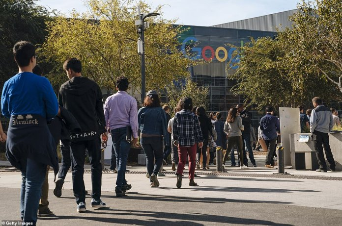 The San Francisco area was one of the last to attend the demonstration, which was scheduled for Thursday, 11:10 am local time, at every Google location in the world