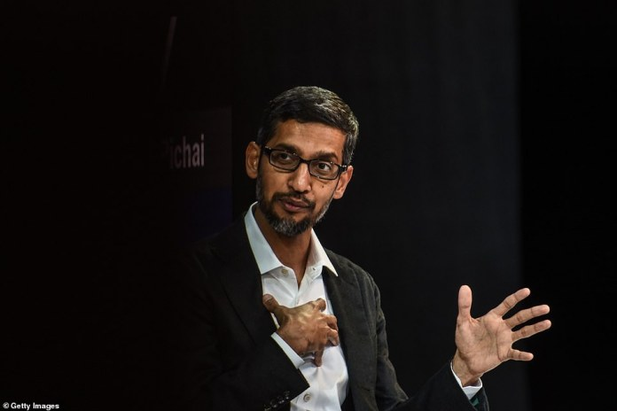 """Google's 46-year-old CEO, Sundar Pichai, admitted he was also angry - """"We all feel"""" - yesterday at the New York Times Dealbook conference, when thousands of his employees marched against the company"""