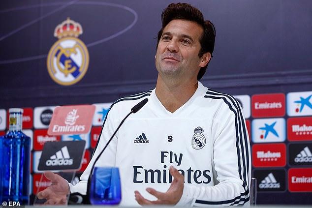 Real Madrid's interim coach Santiago Solari has asked Gareth Bale to answer his critics