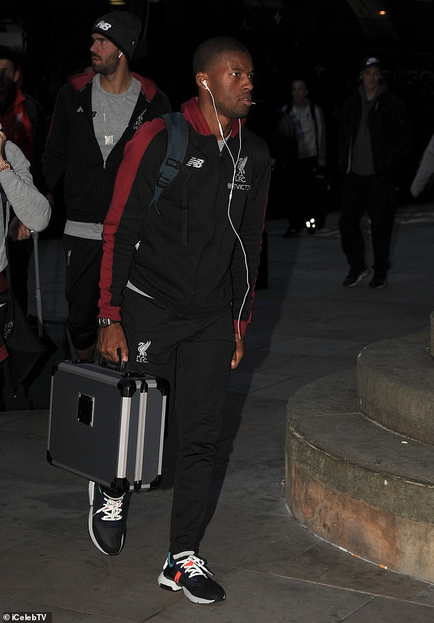 Gini Wijnaldum is expected to start on Saturday in the midfield of the Klopp team