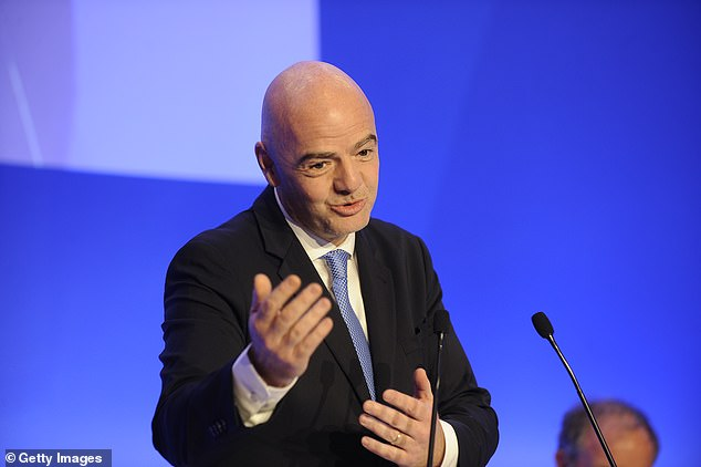 Leaked documents claim Gianni Infantino helped them escape serious penalties