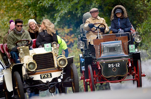Historic Event: Drivers participate in the annual race from London to Brighton