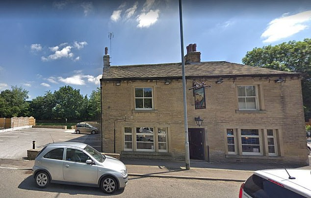 The men reportedly approached the victim as she walked near the Colliers Arms Pub (photo).