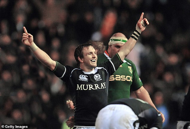 Rory Lawson inspired Scotland in 2010 to beat world champion South Africa