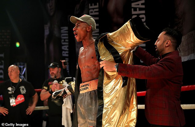 He was defeated by Shakan Pitters in the final of the Ultimate Boxxer Light Heavyweight