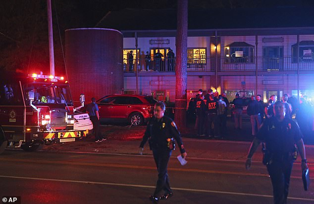 The shooting in Tallahassee on Friday appeared to be a part of a domestic dispute