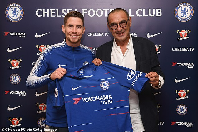 Maurizio Sarri made Jorginho one of his first signings when he was named Chelsea boss