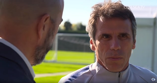 Gianfranco Zola believes that the playing style of Sarri and Chelsea resembles an orchestra