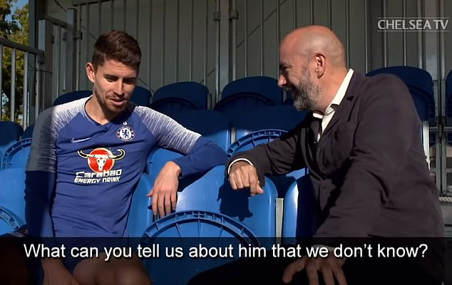 But that means he knows him and his superstitions better than anyone else at Chelsea