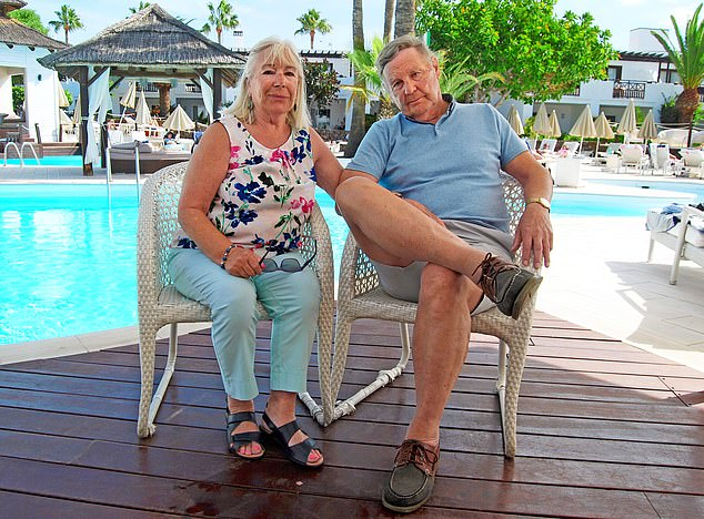 Devastated: Bernard Simpson and his wife Hazel now want others to notice the ransomware scam that cost his son his life