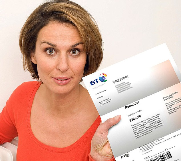 Waging was: BT recently raised the cost of its paper bills for broadband customers by a fifth