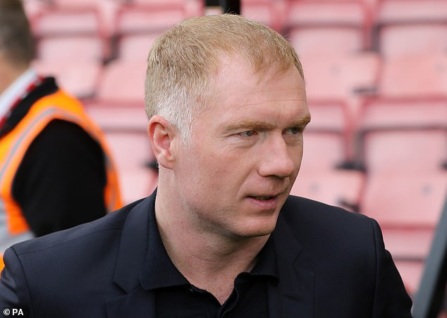 Former United star Paul Scholes was at Vitality Stadium to revise the game for BT Sport