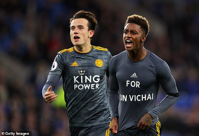 Demarai Gray has been controversially booked for his tribute to owner Vichai Srivaddhanaprabha