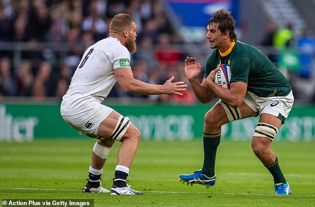 Just now, Etzebeth (right) was great before being forced out due to injury
