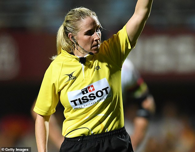 Ireland's Joy Neville is the current rugby referee of the year