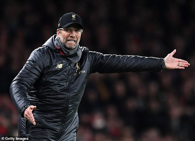 Liverpool boss Jürgen Klopp lost two points to Arsenal on Saturday
