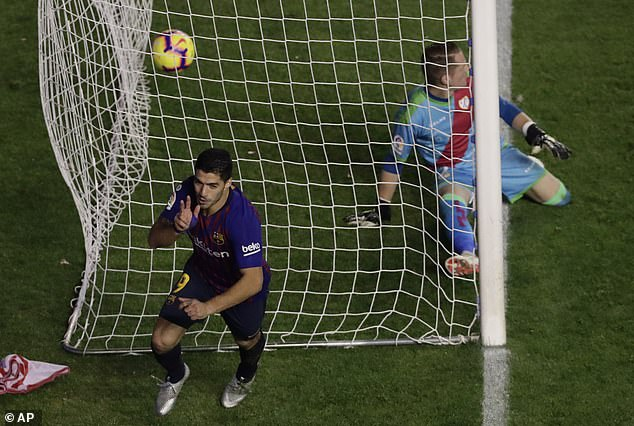 It was a late strike from Barcelona, who had three minutes remaining