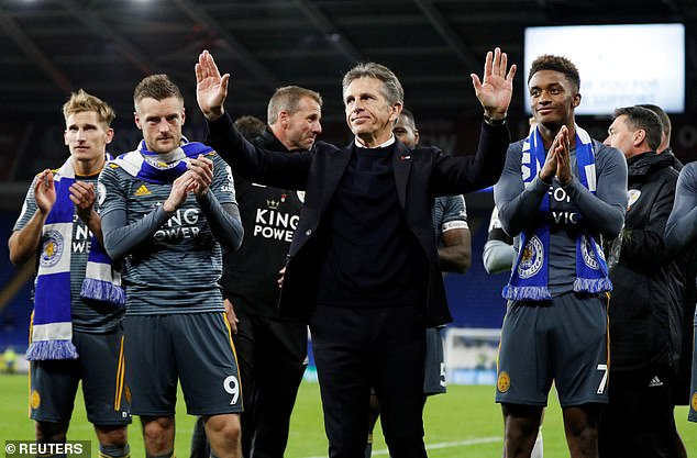 Foxes boss Puel said that Probert was right, despite the event, to remain professional