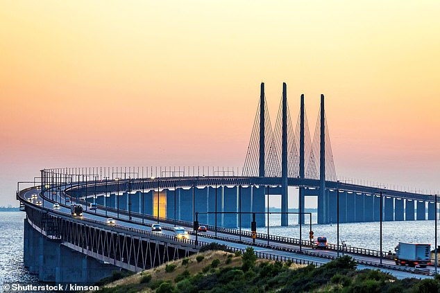 Architectural brilliance: The city is connected to Copenhagen by the Öresund Bridge