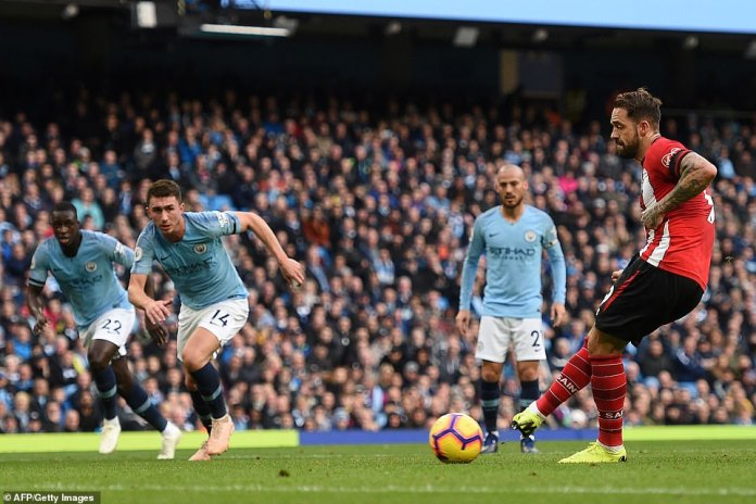 Ings showed impressive modesty as he defeated Ederson from the penalty area as Southampton temporarily reduced the deficit