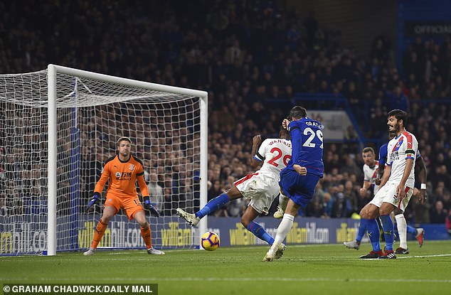 Morata scored a low score to score his second goal - and that of Chelsea