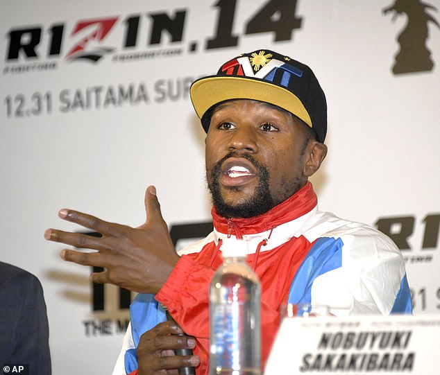 Mayweather said he was thrilled to show his skills outside the United States