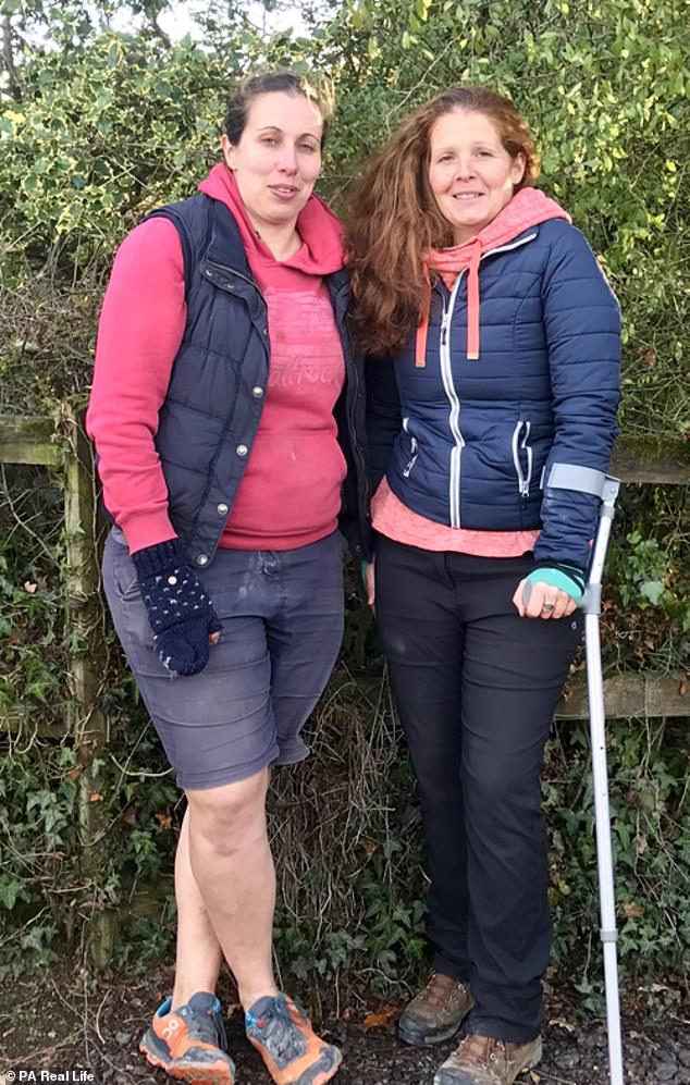 Abi Hall is running South Devon Trail Marathon to raise money to grant a lifelong wish of Miss Watkins' - to take photos of whales in the wild before her condition becomes too severe