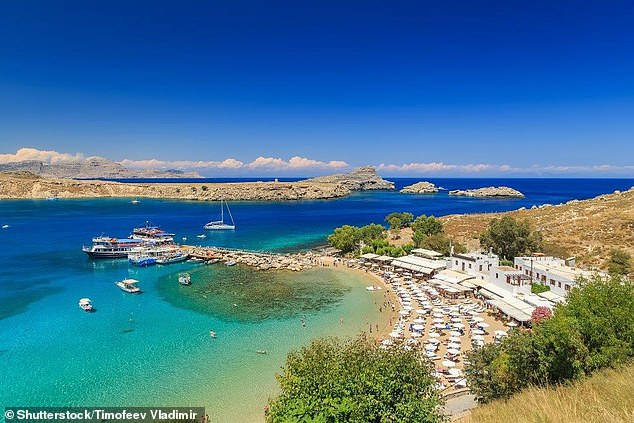 Greece: Paul was on holiday in Rhodes when he unfortunately lost his wedding ring in the sea