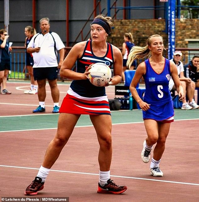 The dreams of being a professional netball player by Letchen du Plessis were quashed when she was diagnosed with three conditions within a year she could not walk. Before she felt unwell, she relies on strong painkillers just to get through the day
