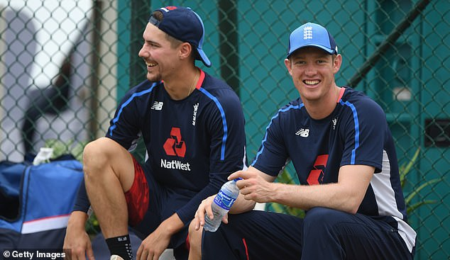 Rory Burns (left) and Keaton Jennings, the new opening partnership for England