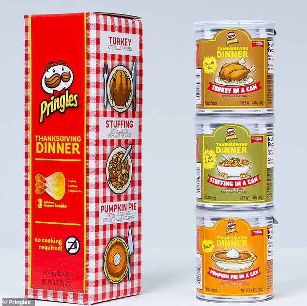 Went fast! Last year's packincluded turkey, stuffing, and pumpkin pie-flavored chips, which sold out in 41 minutes